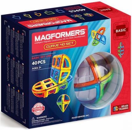 Магнитный конструктор Magformers Curve 40 40 элементов 701011