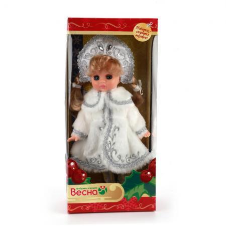 Кукла ВЕСНА Эля Снегурочка 2 30.5 см В1490 кукла кана из серии джуку