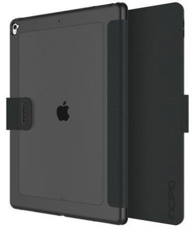 """Чехол Incipio Clarion Folio для iPad Pro 12.9"""" (1 и 2 поколение). Материал пластик/TPU. Цвет черный."""