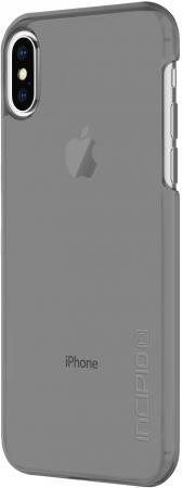 Накладка Incipio Feather Pure для iPhone X прозрачный серый IPH-1644-SMK