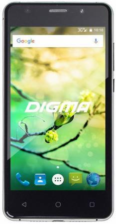 Смартфон Digma Vox G500 3G черный 5 8 Гб Wi-Fi GPS 3G DGS-G500BK-428982 планшет digma plane 1601 3g ps1060mg black