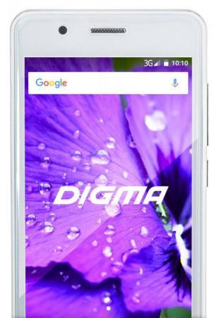 Смартфон Digma LINX A450 3G white 4.5 TN/2.5D/540x960/4x1.3GHz/0.5+4Gb/3G/2Sim/2+0.3Mp/1800mAh/And6. смартфон digma linx a450 black