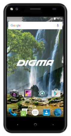Смартфон Digma Vox E502 4G черный 5 16 Гб Wi-Fi GPS 3G 4G DGS-E502BK-495884 смартфон 5 digma vox s505