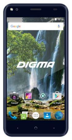 Смартфон Digma Vox E502 4G темно-синий 5 16 Гб Wi-Fi GPS 3G 4G DGS-E502DB-495890 смартфон digma vox g500 3g 8gb черный vs5027mg