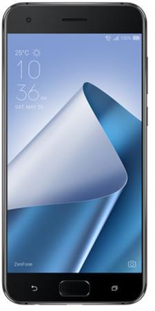 "Смартфон ASUS ZenFone 4 Pro ZS551KL черный 5.5"" 64 Гб NFC LTE Wi-Fi GPS 3G 90AZ01G1-M00330 asus asus zenfone 2 laser ze500kl белый 1 гб 8 гб 2 sim 4g lte"