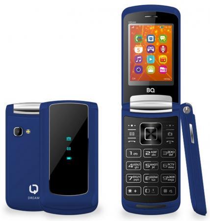 Мобильный телефон BQ BQ-2405 Dream синий 2.4 64 Мб BQM-2405-DBL мобильный телефон bq mobile bqm 1831 step white