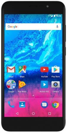 Смартфон ARCHOS Core 55 P черный 5.5 16 Гб LTE Wi-Fi GPS 3G 503421 смартфон fly fs523 cirrus 16 lte black