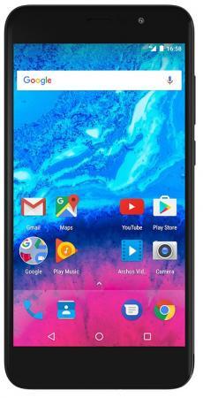 Смартфон ARCHOS Core 50P черный 5 16 Гб LTE Wi-Fi GPS 3G 503417 finesource g7 android 4 4 quad core wcdma bar phone w 5 5 4gb rom wi fi gps ota black