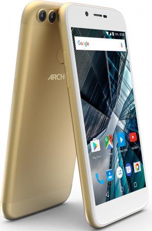 Смартфон ARCHOS Sense 50 DC золотистый 5 16 Гб LTE Wi-Fi GPS 3G 503525 смартфон archos sense 50 dc золотистый 5 16 гб lte wi fi gps 3g 503525