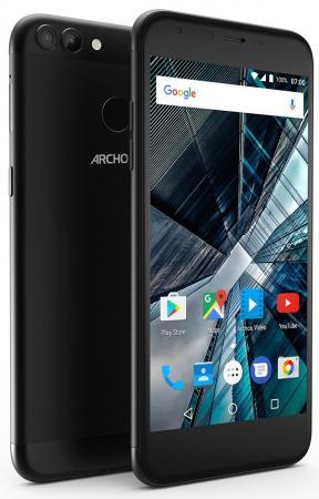 Смартфон ARCHOS Sense 55 DC черный 5.5 16 Гб LTE Wi-Fi GPS 3G 503438 смартфон archos core 50p черный 5 16 гб lte wi fi gps 3g 503417