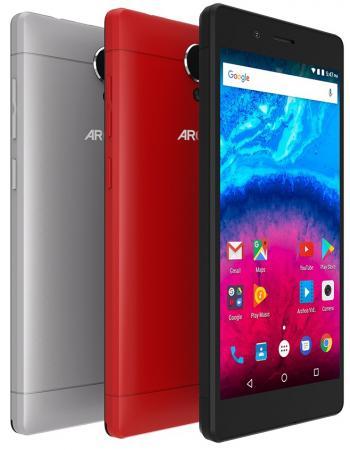Смартфон ARCHOS Core 50 серый 5 16 Гб LTE Wi-Fi GPS 3G 503585 смартфон asus zenfone live zb501kl золотистый 5 32 гб lte wi fi gps 3g 90ak0072 m00140