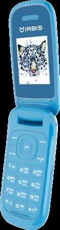 """Мобильный телефон Irbis SF07 голубой 1.77"""" 32 Мб мобильный телефон irbis sf12 голубой черный"""