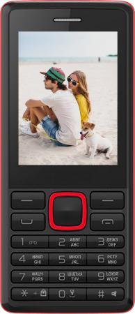 Мобильный телефон Irbis SF12 черный красный 2.4 32 Мб