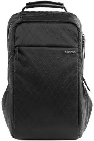 Рюкзак для ноутбука 15 Incase ICON Pack Diamond Wire кожа черный CL55598 сумка универсальная incase diamond wire нейлон черный cl90024