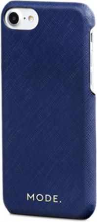 Чехол-накладка dbramante1928 London для iPhone 8/7/6s/6. Материал натуральная кожа/пластик. Цвет синий. браун роуз дизайн кожа pu откидная крышка бумажника карты держатель чехол для iphone 6s
