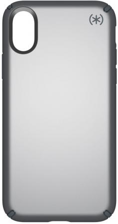 Накладка Speck Presidio Metallic для iPhone X серый 103135-6649 чехол книжка speck presidio folio для iphone x материал полиуретан цвет красный серый