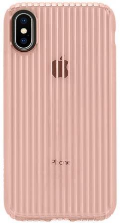Накладка Incase Protective Guard Cover для iPhone X розовое золото INPH190380-RGD