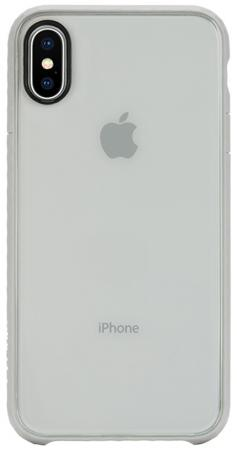 Накладка Incase Pop Case для iPhone X прозрачный серый INPH190382-SLT