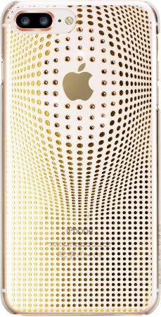 Накладка Bling My Thing Warp Deluxe для iPhone 8 Plus золотой ip8-l-wd-cl-gld