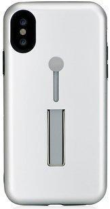 Чехол Bling My Thing для iPhone X, с кристаллами Swarovski. Коллекция SelfieLOOP. Дизайн Crystal. Цвет серебряный. Материал пластик. стоимость