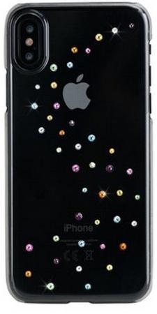 Чехол Bling My Thing для iPhone X, с кристаллами Swarovski. Материал пластик. Коллекция Milky Way. Дизайн Cotton Candy. стоимость