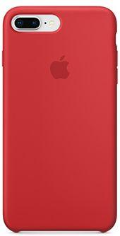 Накладка Apple Silicone Case PRODUCT RED для iPhone 7 Plus iPhone 8 Plus красный MQH12ZM/A apple silicone case чехол для iphone 7 plus 8 plus product red