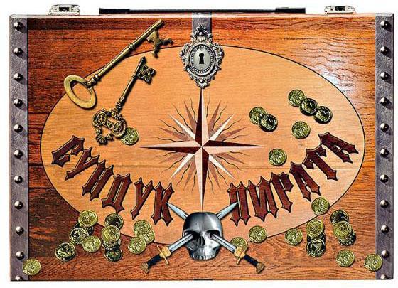 Игровой набор FANTASTIC Сундук пирата головоломки fantastic игровой набор чемодан головоломок