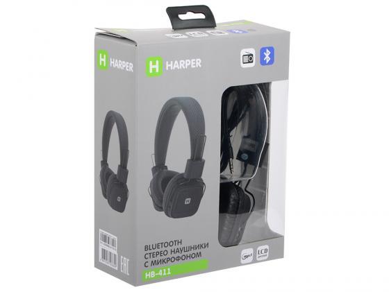 Гарнитура HARPER HB-411 Black очки гарнитура harper hb 600 белый