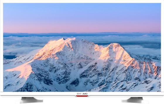 "Телевизор LED 24"" SHIVAKI STV-24LED20W белый 1366x768 50 Гц VGA HDMI SCART USB"