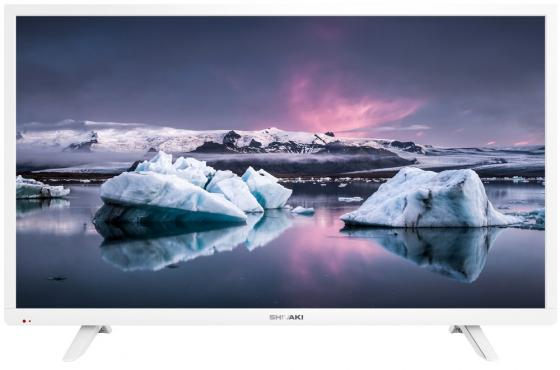 "Телевизор LED 39"" SHIVAKI STV-39LED20W белый 1366x768 50 Гц VGA SCART USB"