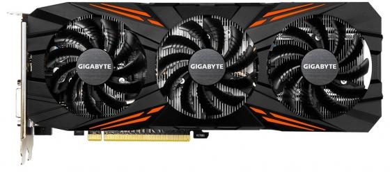 Видеокарта 8192Mb Gigabyte GeForce GTX1070Ti GAMING PCI-E 256bit GDDR5 DVI HDMI DP GV-N107TGAMING-8GD Retail видеокарта geforce gtx msi geforce gtx 1070 gaming x 8g