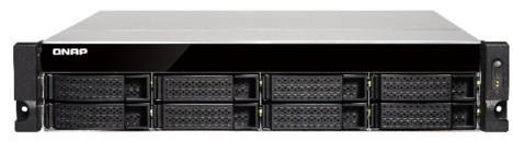 Сетевое хранилище QNAP TS-853BU-4G 8x2,5 / 3,5 рэковое сетевое хранилище rack nas qnap ts 863u 4g ts 863u 4g