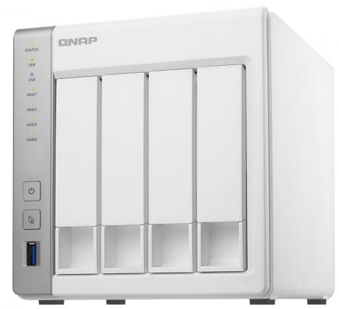 Сетевое хранилище QNAP TS-431P2-4G 2x2,5 / 3,5 рэковое сетевое хранилище rack nas qnap ts 863u 4g ts 863u 4g