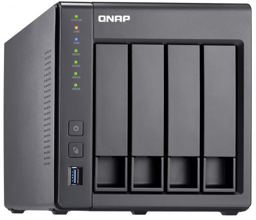 Сетевое хранилище QNAP TS-431X2-2G 4x2,5 / 3,5 рэковое сетевое хранилище rack nas qnap ts 531x 2g ts 531x 2g