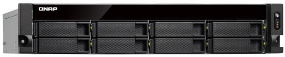 Сетевое хранилище QNAP TS-853BU-RP-4G 8x2,5 / 3,5 схд стоечное исполнение 4bay rp no hdd ts 432xu rp 2g qnap