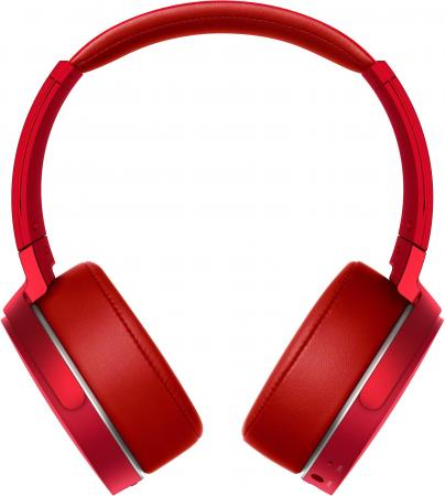цена на Наушники SONY MDR-XB950B1 красный