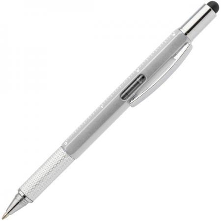 Ручка шариковая автоматическая Index IMWT1313/SL синий 1 мм шариковая ручка автоматическая index imwt1313 bk синий 1 мм 5 в1