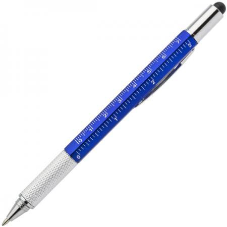 Шариковая ручка автоматическая Index IMWT1313/BU синий 1 мм 5 в1 канцелярия index точилка автоматическая