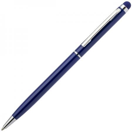 Шариковая ручка автоматическая Index IMWT1316/BU синий 1 мм со стилусом ручка cross ручка шариковая со стилусом at0682s 5