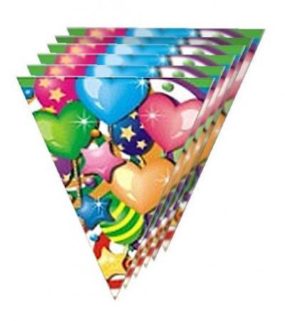Гирлянда из флажков Праздник 6 метров action гирлянда праздник