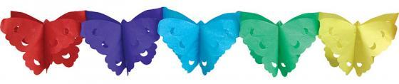 Гирлянда праздничная,бабочки, 4метра action гирлянда праздник