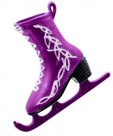 Елочные украшения Winter Wings Фигурные коньки 3 шт пурпурный пластик