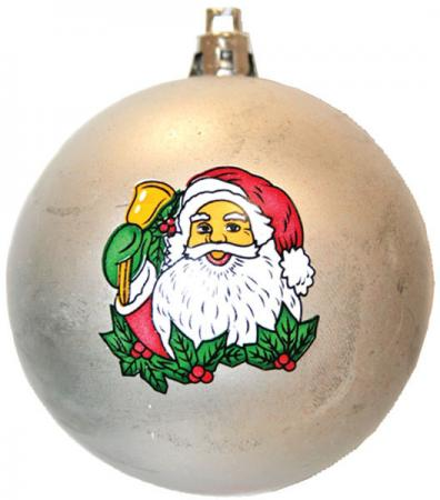 Набор шаров Winter Wings Дед Мороз, с ручной росписью 6 см 6 шт в ассортименте N06469 snowlife набор из 6 шаров елочных дед мороз диам 75 мм