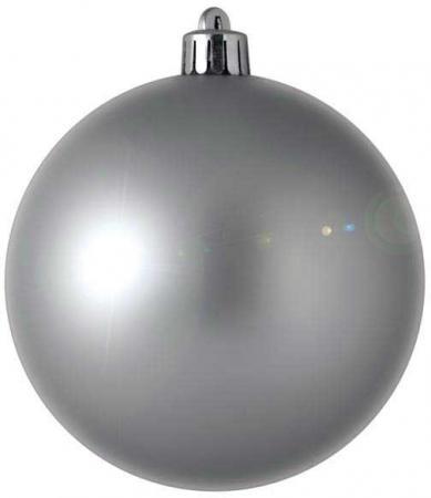 Елочные украшения Winter Wings Шар блестящий 7 см 1 шт серебро N06706