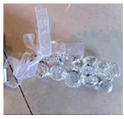 Украшение елочное ПОДВЕСКА, 9,5 см, пластик