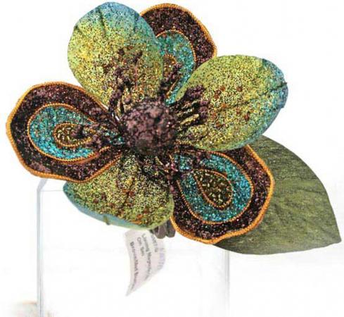 Елочные украшения Winter Wings Цветок 12 см 1 шт пластик N069224 елочные украшения winter wings цветок эльф 19 см 1 шт розовый