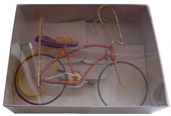 Елочные украшения Winter Wings Велосипед 13*3*10 см 1 шт в ассортименте металл fit 18665