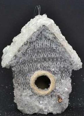 Елочные украшения Winter Wings Домик 10*13 см 1 шт полимер елочные украшения русские подарки игрушка ёлочная домик