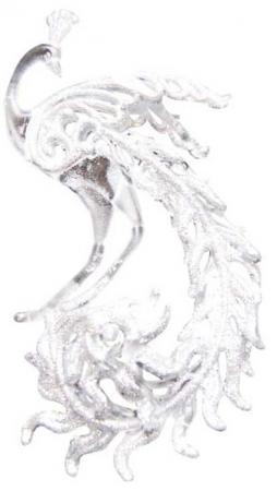 Елочные украшения Winter Wings Жар-птица 15*9 см 1 шт прозрачный пластик 181055