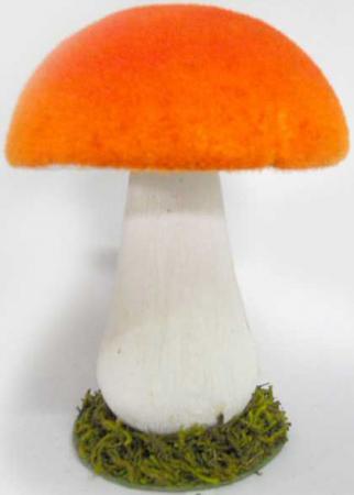 Украшение Winter Wings Красный гриб 20 см 1 шт полимер N069758 ювелирное украшение для волос new 20 p jh03002 20 hlj